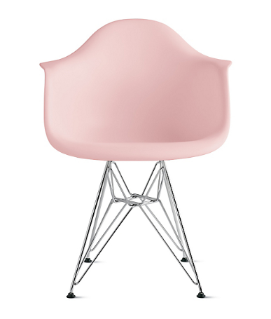 "Eames Molded Plastic Dowel-Leg Armchair, $539.00; at <a rel=""nofollow"" href=""http://www.dwr.com/designer-charles-and-ray-eames/eames-molded-plastic-dowel-leg-armchair-daw/1980.html?lang=en_US#q=eames&lang=en_US&start=20"">Design Within Reach</a>"