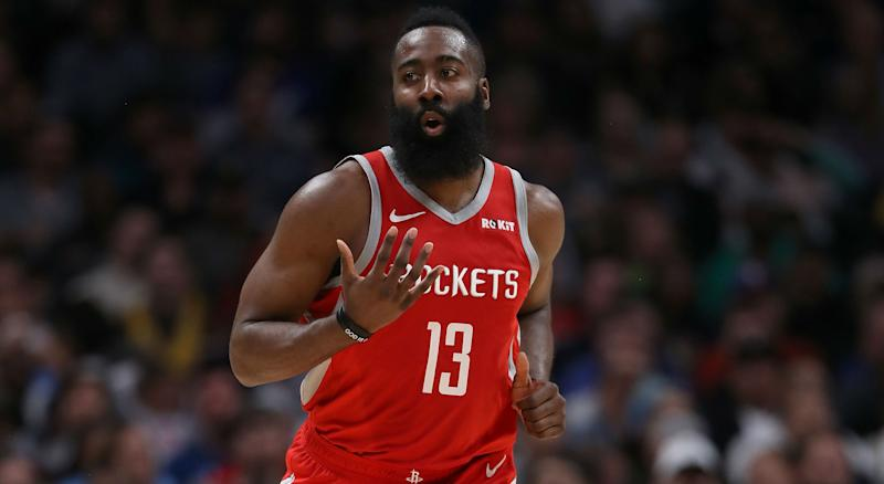 Harden on possibly winning back-to-back MVP awards: I need it, I need it for sure