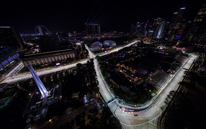 The Singapore Grand Prix returns to the Marina Bay Street circuit this weekend - Getty Images AsiaPac