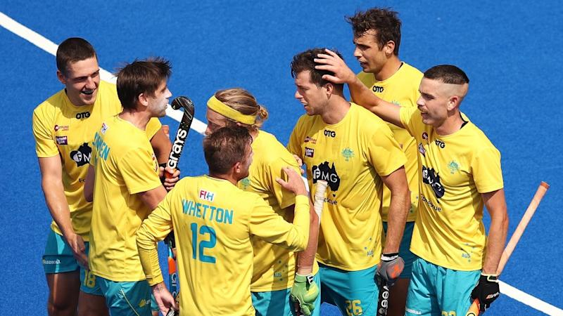 The Kookaburras were comprehensive winners over Great Britain in their Pro League clash in Sydney