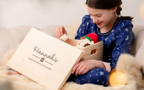 Personalised Large Christmas Eve Box For Family - Credit: Not On The High Street