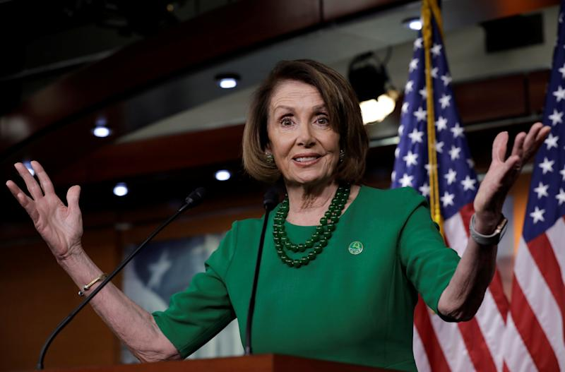 """The House still retains the right to decide who is seated,"" said Minority Leader Nancy Pelosi (D-Calif.), referring to the possibility that members of Congress could refuse to swear in the Republican of North Carolina's House race potentially plagued by fraud. (Reuters)"