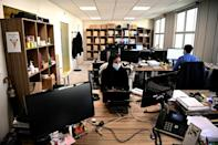 The virus has imposed a new reality on company workers
