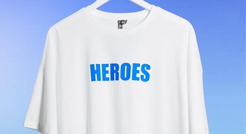 The charitable tees to have been created to help aid the coronavirus. (ASOS)
