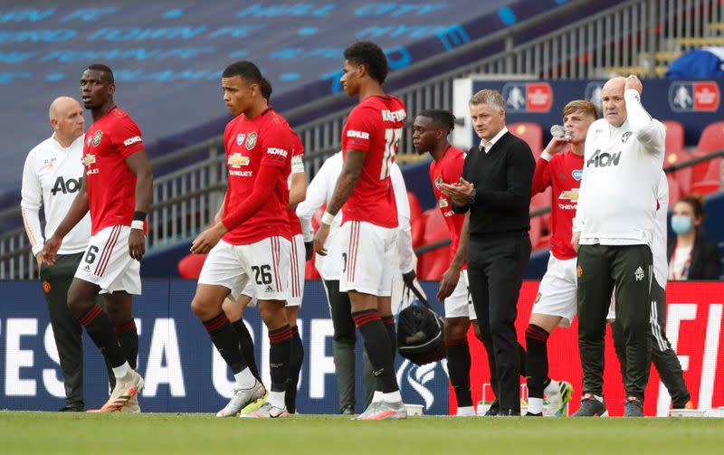 Man Utd squad is big enough, says Solskjaer