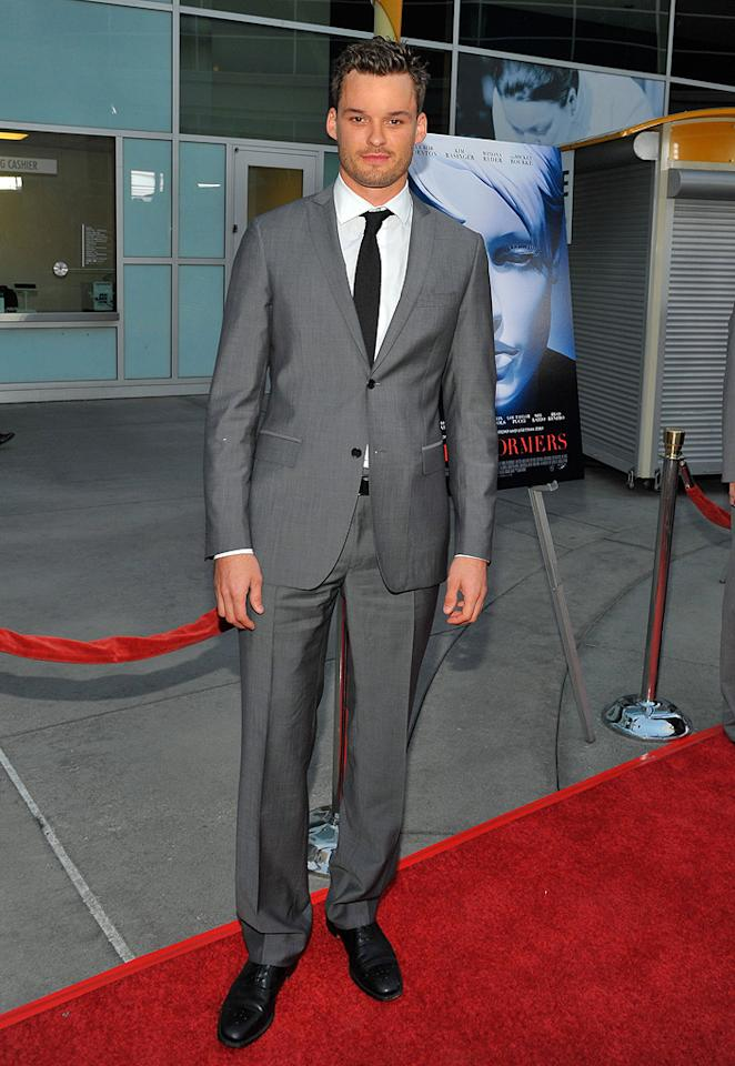 """<a href=""""http://movies.yahoo.com/movie/contributor/1804581848"""">Austin Nichols</a> at the Los Angeles premiere of <a href=""""http://movies.yahoo.com/movie/1809946368/info"""">The Informers</a> - 04/16/2009"""