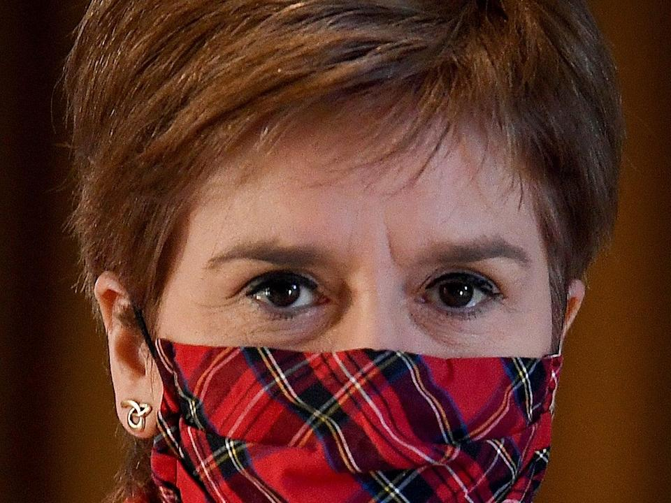 First minister and SNP leader Nicola Sturgeon (Getty Images)