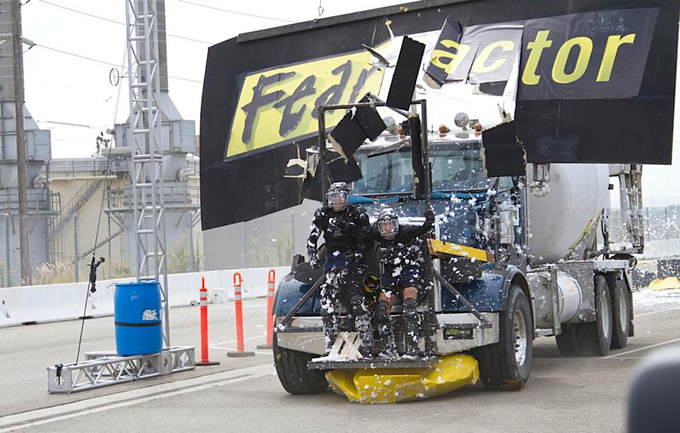 The 2011 revival of 'Fear Factor' broke barriers for the show before it was cancelled by NBC. (Photo: NBC)