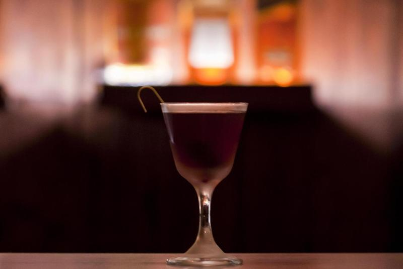 All about the drinks: the bar is all about what it serves, rather than it's looks: Maja Jaworska