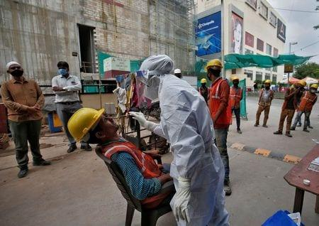 India Reports Record Daily Jump Of 95,735 Coronavirus Cases