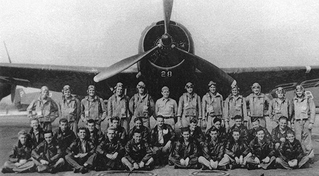 Torpedo Bomber #28, the lead plane of Flight 19, known as
