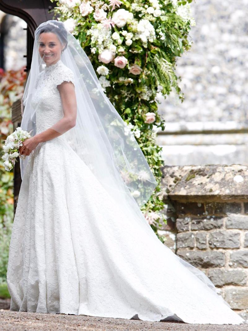 Giles Deacon also designed Pippa Middleton's wedding dress. Source: Getty