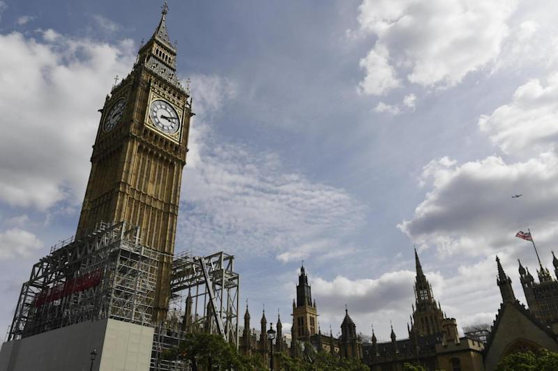 Big Ben: The famous landmark was due to fall silent for four years (EPA)