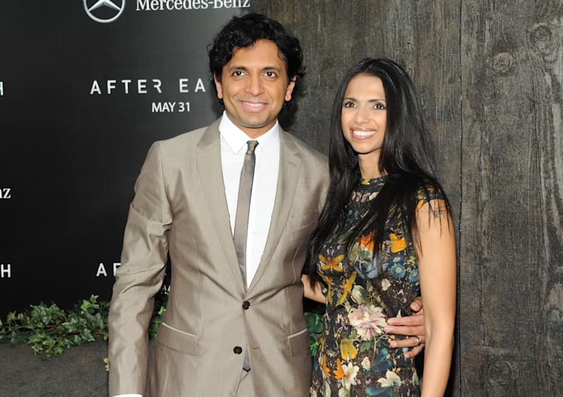 Shyamalan not in orbit of 'After Earth' marketing