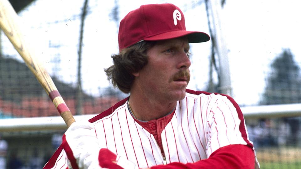 Mandatory Credit: Photo by Anonymous/AP/Shutterstock (6570946a)Schmidt Philadelphia Phillies' infielder Mike Schmidt is seen 1981Phillies Schmidt 1981, USA.