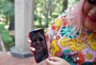 Former manicurist Herlanlly Rodriguez shot to social media fame during the pandemic with her satirical videos taking aim at machismo
