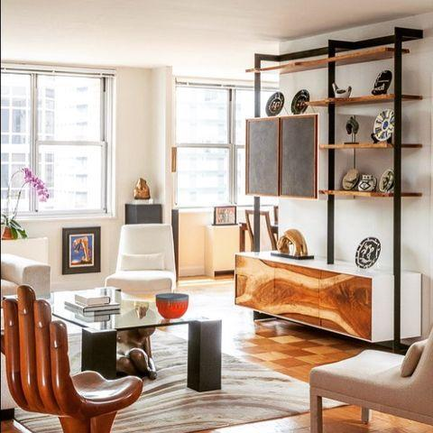 "<p>Husband-and-wife duo Everick and Lisa Brown are the masterminds behind this dynamic New York City design firm. </p><p><a href=""https://www.instagram.com/p/CIbOk5iJtcB/"" rel=""nofollow noopener"" target=""_blank"" data-ylk=""slk:See the original post on Instagram"" class=""link rapid-noclick-resp"">See the original post on Instagram</a></p>"
