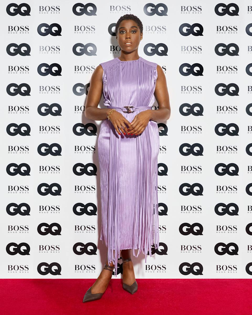 <p>Lashana Lynch</p>GQ MEN OF THE YEAR AWARDS 2020 IN ASSOCIATION WITH HUGO BOSS