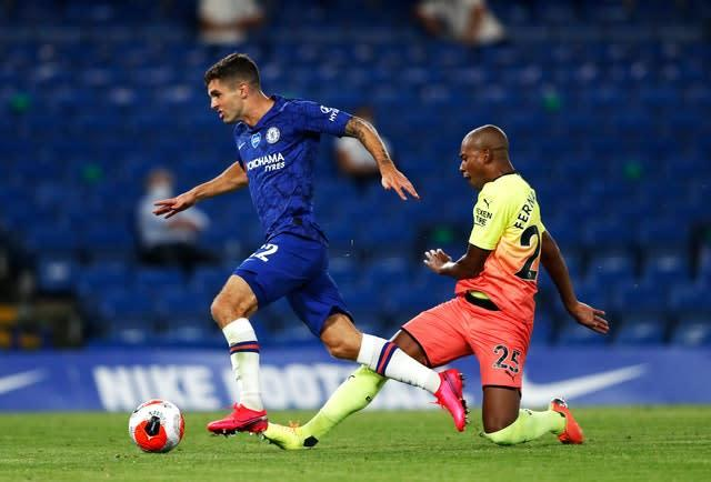Christian Pulisic opened the scoring for Chelsea (Adrian Dennis/NMC Pool)