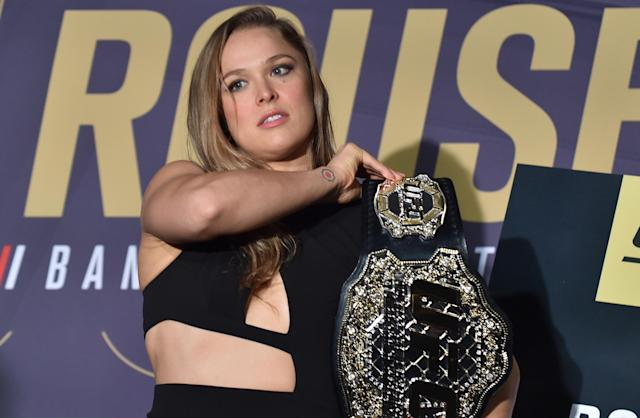 Like Tiger Woods in golf, Ronda Rousey had an unparalleled impact on MMA