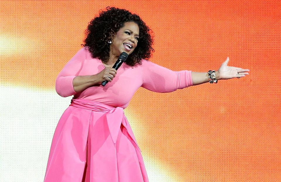 """<p><span>Name a more iconic purveyor of self-care (we'll wait). Oprah knows how to keep herself grounded and calm. Her secret? A special Sunday routine. """"</span><span>I always give myself Sundays as a spiritual base of renewal — a day when I do absolutely nothing,"""" Winfrey </span><a rel=""""nofollow noopener"""" href=""""http://www.oprah.com/omagazine/how-oprah-relaxes-what-oprah-does-to-relax#ixzz5785Lq5bL"""" target=""""_blank"""" data-ylk=""""slk:writes"""" class=""""link rapid-noclick-resp""""><span>writes</span></a><span>. """"I sit in my jammies or take a walk, and I allow myself time to BE — capital B-E — with myself. When I don't, I absolutely become stressed, irritable, anxiety-prone, and not the person I want to be in the world.""""</span><br>(Photo: Getty Images) </p>"""