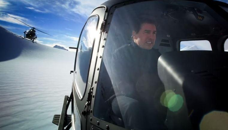 Mission: Impossible – Fallout sees Tom Cruise do his own flight stunts