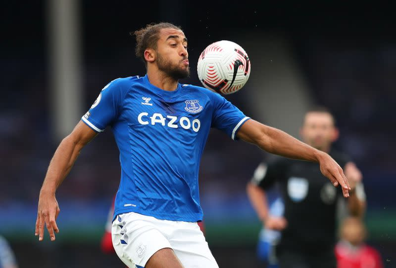 Calvert-Lewin says Everton must look at positives after derby draw