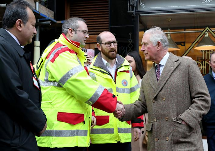 The Prince of Wales is said be in good health and showing 'mild symptoms.' While his wife Duchess of Cornwall Camilla has tested negative and is under self-isolation.