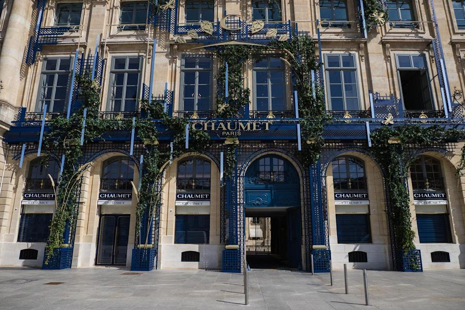 """<p>The Parisian jewelry house is hosting an <a href=""""https://www.chaumet.com/fr/exposition-josephine-et-napoleon"""" rel=""""nofollow noopener"""" target=""""_blank"""" data-ylk=""""slk:exhibition of the iconic royal couple's collection"""" class=""""link rapid-noclick-resp"""">exhibition of the iconic royal couple's collection</a> now through July 18, showcasing the pair's connection to the formation of the brand itself. Marie-Étienne Nitot, founder of Chaumet, became jeweler to the the Bonapartes and created some of their most famous pieces, such as the papal tiara and Joséphine's nature-inspired diadem. This exhibition also features some pieces from the royal couple's collection that have never before been available for public viewing. </p>"""