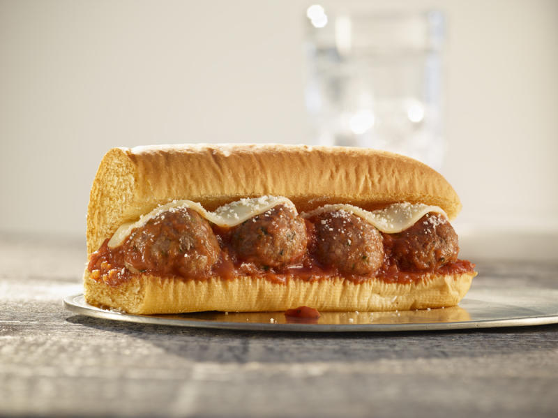 Subway is testing a Beyond Meat plant-based meatball marinara sandwich