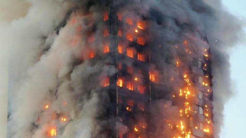 London fire was like a 'disaster movie'