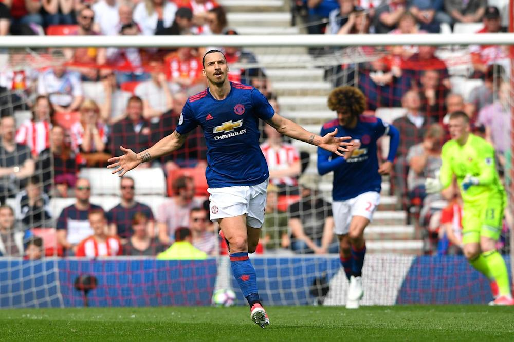 Zlat's better | United win for the first time in three games to move above Arsenal: Getty Images