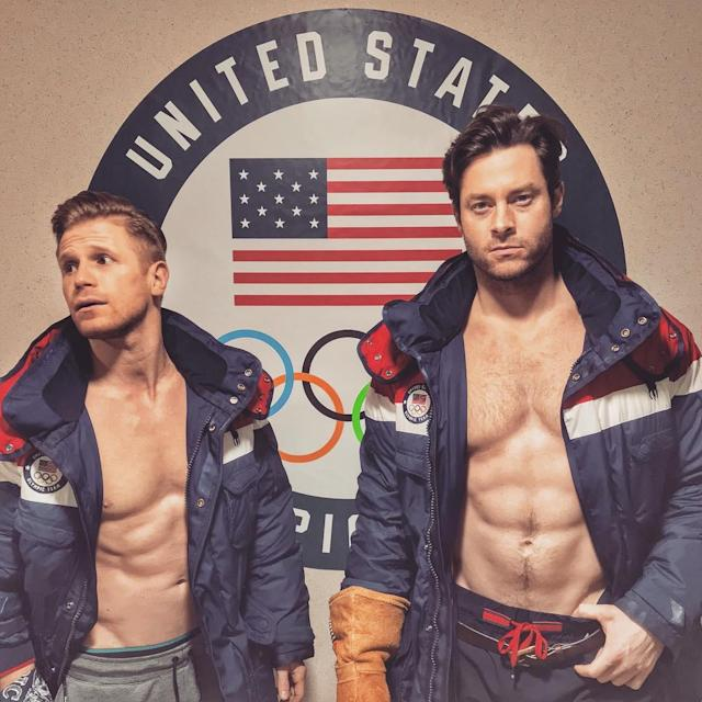 <p>Steven Langton, Team USA: I know what you're thinking and yes, I lost my other glove. Also, @johndalyusa saw a squirrel. Watch @teamusa kick off @pyeongchang2018 tonight at Opening Ceremonies on @nbc. #teamusa #olympics #winterolympics #yourdalynitro #itsforamerica (Photo via Instagram/stevenlangton) </p>