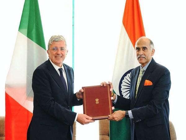 Italy signs framework agreement on International Solar Alliance with India