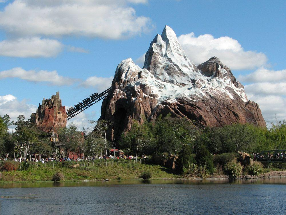 <p>La atracción Expedition Everest (más de 61 metros de altura) es la atraccion más alta de Disney World, seguida de la Torre del Terror en Disney's Hollywood Studios (60 metros), el Castillo de la Cenicienta en Magic Kingdom (56 metros), Spaceship Earth en Epcot y Space Mountain en Magic Kingdom (54 metros cada uno) y el Árbol de la Vida en Disney's Animal Kingdom (44 metros).</p>