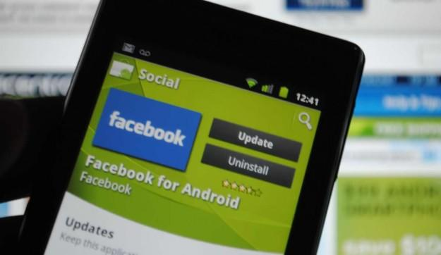 Facebook more popular than many Google apps on Android phones