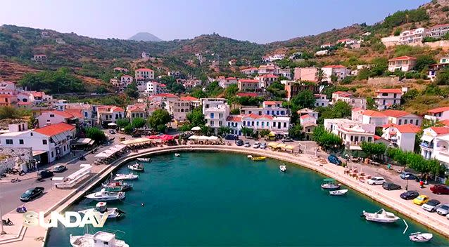 The island in the Mediterranean has been nicknamed 'The Island of the Immortals'.