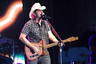 "<p><strong>Brad Paisley </strong></p><p>There ain't no country music without Brad Paisley. He's from Glen Dale, West Virginia, and has released 11 studio albums (and even a Christmas album!). While he's distinguished in his craft, he also wrote songs for Pixar's <em>Cars</em> franchise (""Behind the Clouds"" and ""Find Yourself"").</p>"