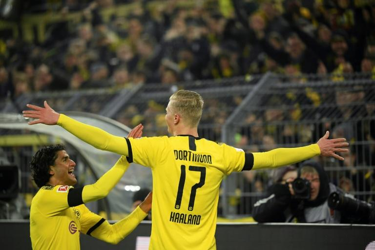 Norway striker Erling Braut Haaland has scored five of his nine goals in just six games at Signal Iduna Park, in front of 'The Yellow Wall'
