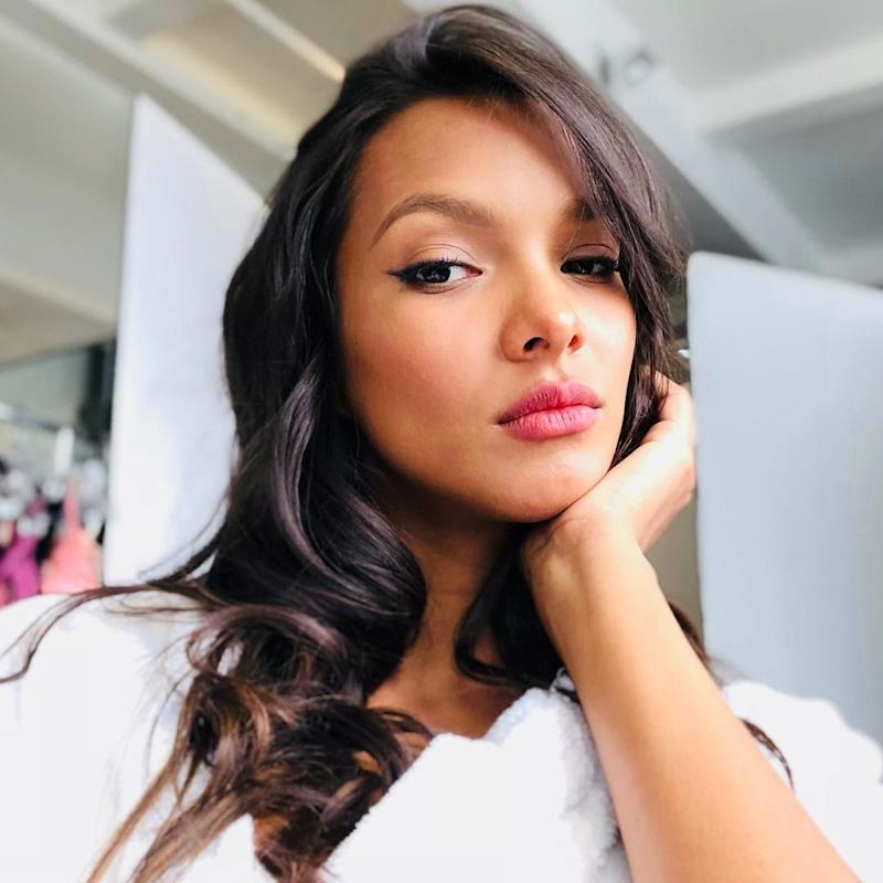 Brazilian beauty Lais Ribeiro is also a fan of the New York's Dogpound and trains with personal trainer Kirk Myers.