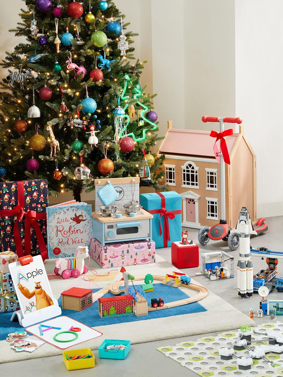 "<p><strong>John Lewis & Partners has just unveiled its top 10 must-have toys for <a href=""https://www.housebeautiful.com/uk/lifestyle/shopping/a28543649/selfridges-christmas-shop-opens-early-july/"" rel=""nofollow noopener"" target=""_blank"" data-ylk=""slk:Christmas"" class=""link rapid-noclick-resp"">Christmas</a> 2019. We've already had <a href=""https://www.housebeautiful.com/uk/lifestyle/shopping/g27783271/argos-christmas-toys-2019/"" rel=""nofollow noopener"" target=""_blank"" data-ylk=""slk:Argos' top toy predictions"" class=""link rapid-noclick-resp"">Argos' top toy predictions</a>, and now John Lewis has followed suit to help customers find the perfect gift for kids this year.</strong> </p><p>Some of the top toys for children includes a Leckford doll's house, a 50-piece train set and a mini kitchen, all of which are made from wood. Unicorn toys are also set to be high on Christmas wish lists this year, as are foldable scooters. <br><br>'As we all become more aware of our impact on the environment we are seeing a move away from products such as slime and collectables in favour of more sustainable toys that have limitless play value and can be passed down to younger children,' says Harry Boughton, Toy Buyer at John Lewis. 'Parents are also telling us that they want to buy toys which encourage their children to spend more time playing with educational games and reading.'<br><br>Will you be getting your hands on these must-have toys? Some aren't in the shops just yet, so keep an eye open for when they land on the shelves.</p>"