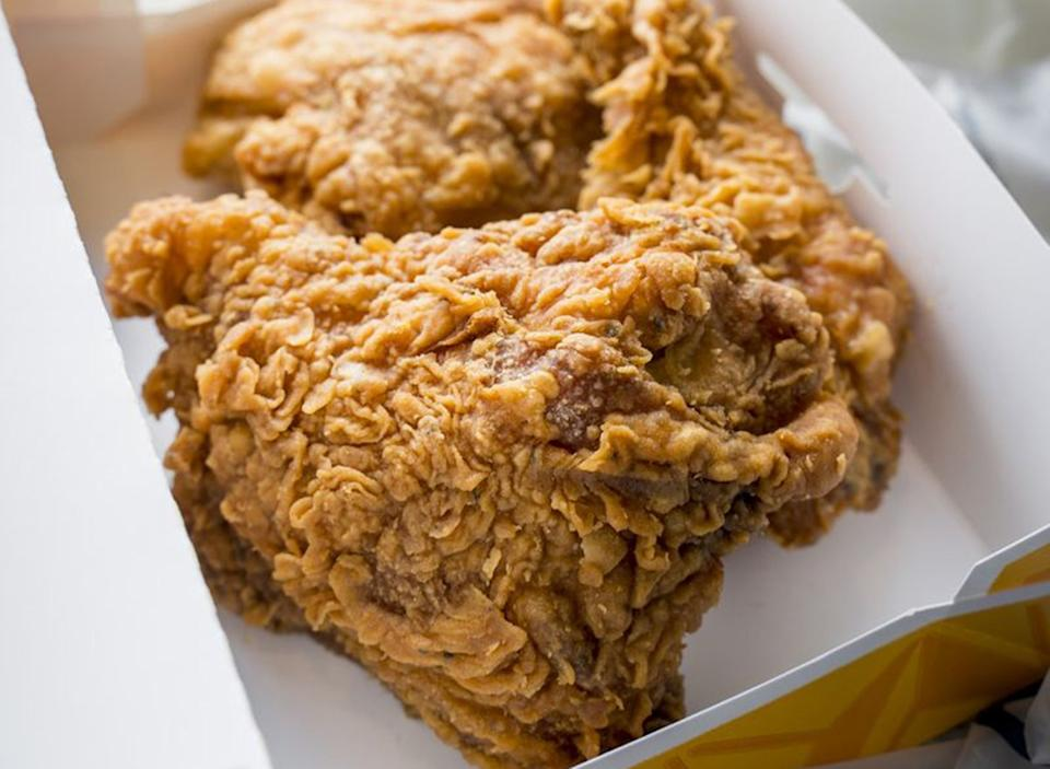 churchs chicken spicy thigh