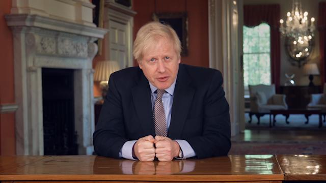 Boris Johnson announced a slight easing of the lockdown on Sunday, with measures to take effect from Wednesday. (PA Images)