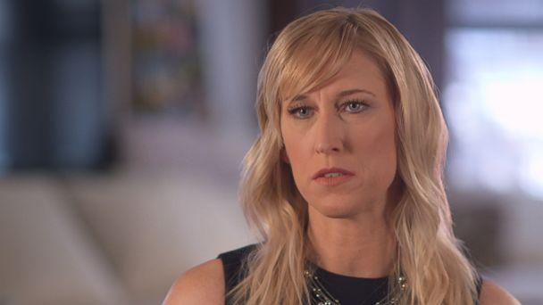 Amber Frey is seen here in an interview with ABC News. (ABC News)