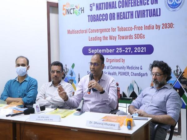 Curtain raiser of fifth National Conference on Tobacco or Health (Photo/ANI)