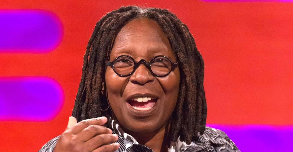 Whoopi Goldberg spoke about the royal baby one day before the official announcement. (PA Images)