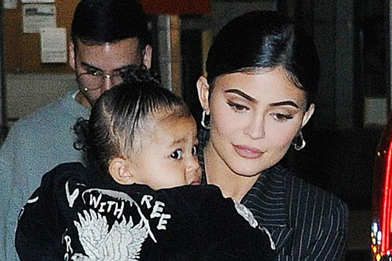 66d4e61b3e765 Kylie Jenner and Daughter Stormi Kept Cozy in Uggs on Mother s Day