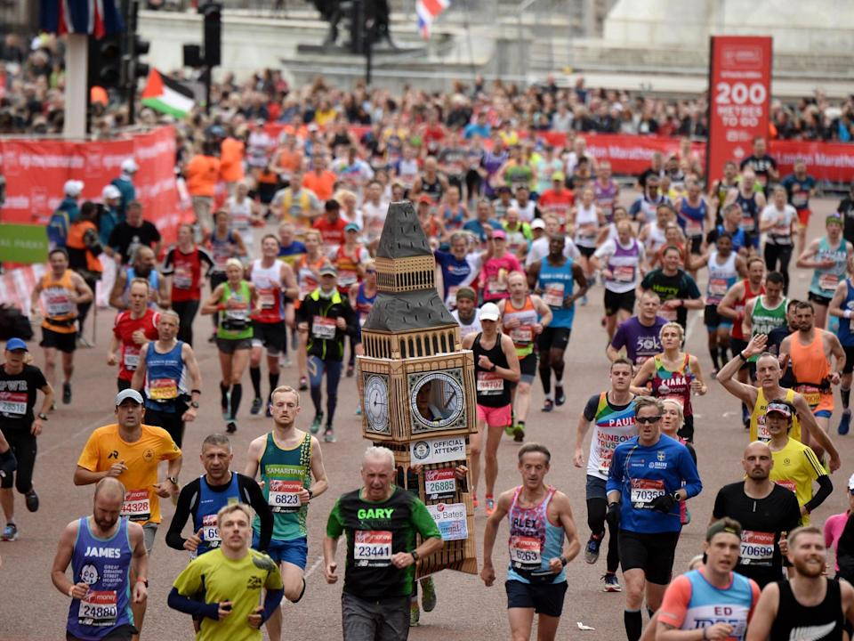 The London Marathon will have more than 40,000 runners: Getty
