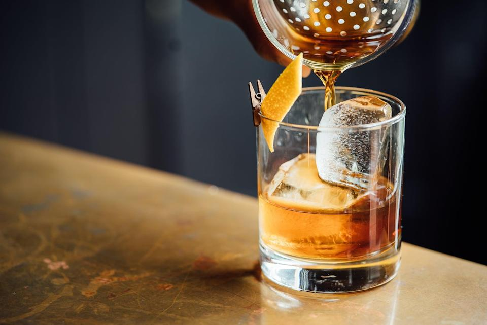 <p>A little gin here, a little tonic there - shake the night up by concocting your own signature cocktail together. Not only will taste-testing be a blast, but you and your SO might just become skilled mixologists by the end of the night.</p>