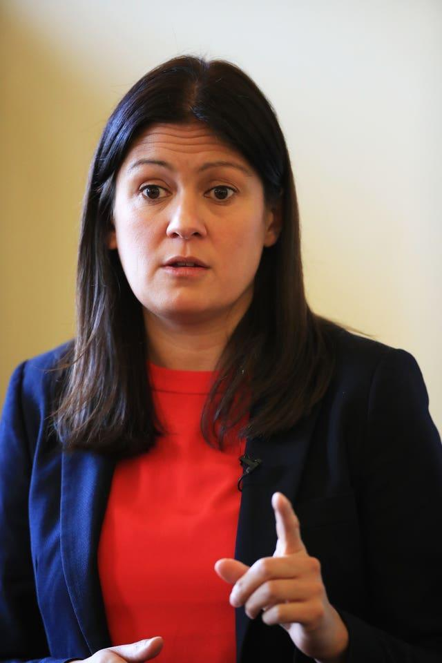 Shadow foreign secretary Lisa Nandy